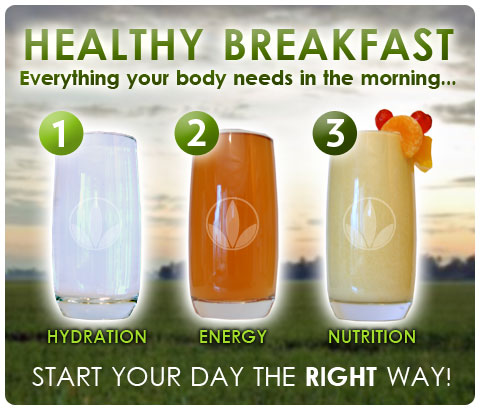 """Formula 1 for a Healthy Herbalife Breakfast"""