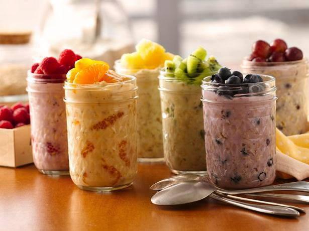 Herbalife uncooked porridge oats shake