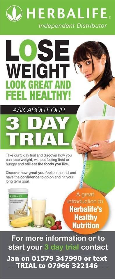 3 day trial for Herbal Energy For You